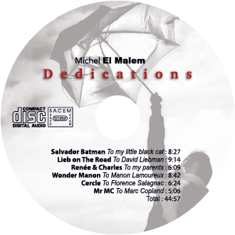 Dedications CD