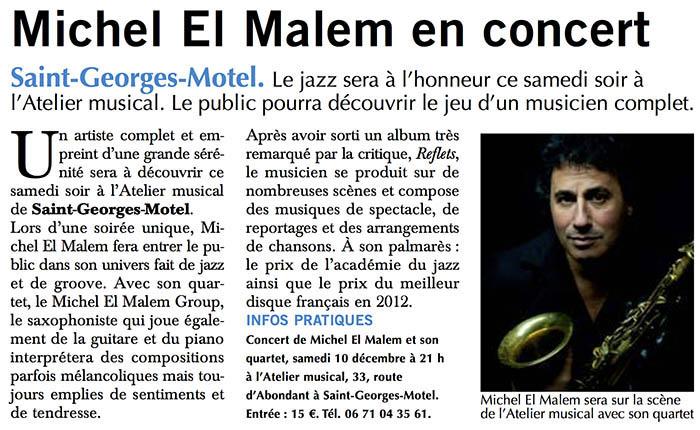 Concert Michel El Malem